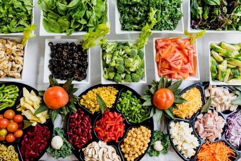 Výber zeleninových variánt na zdravý jedálniček na chudnutie