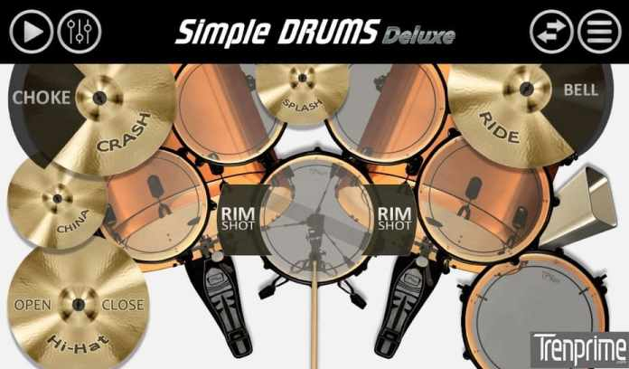 aplikasi drum simple drums - deluxe