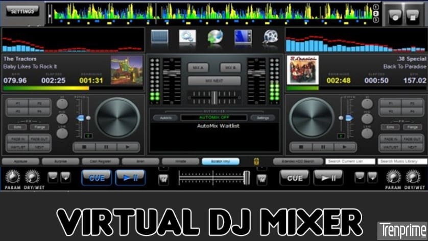 Virtual DJ Music Mixer