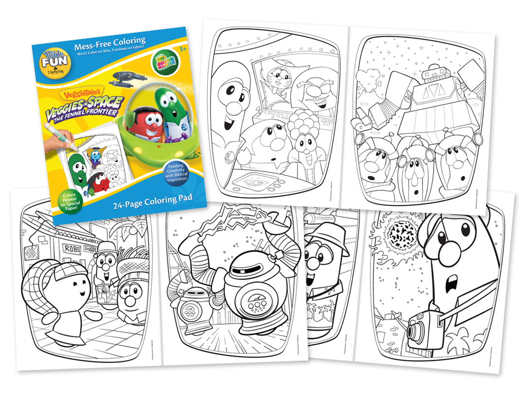 Dayspring Veggietales Activity And Coloring Books