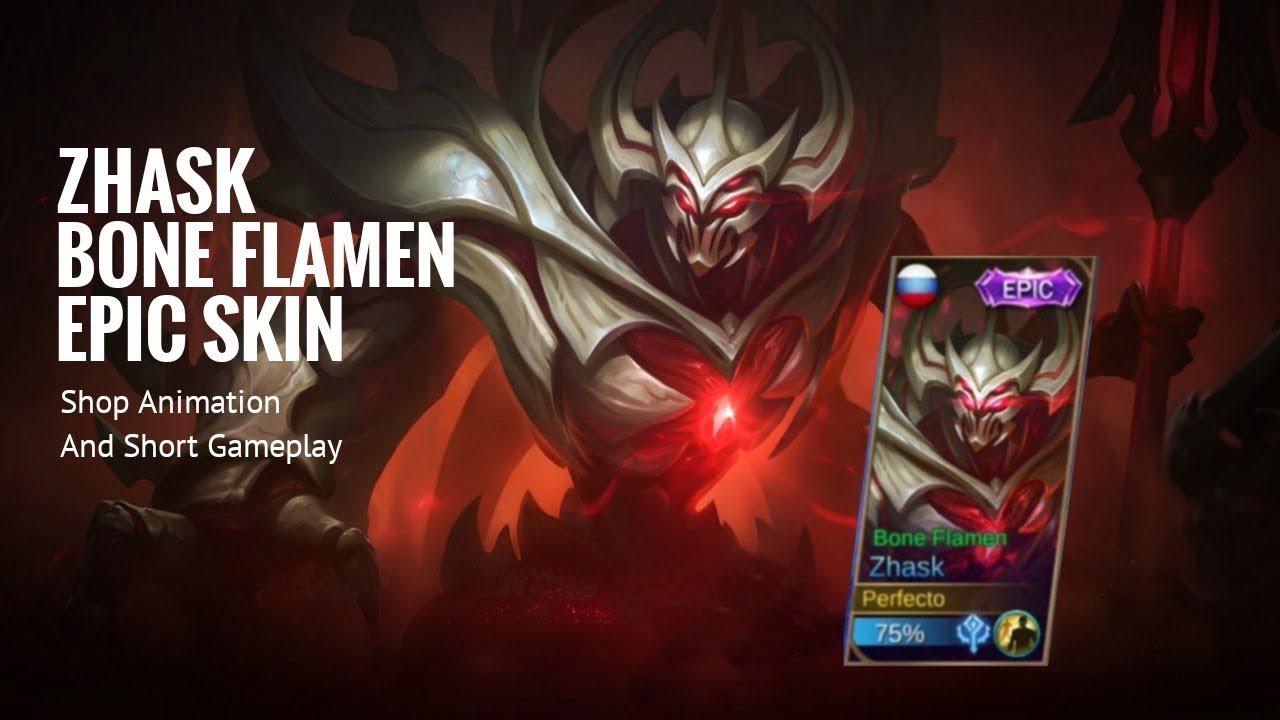 Bone Flamen Skin Mobile Legend