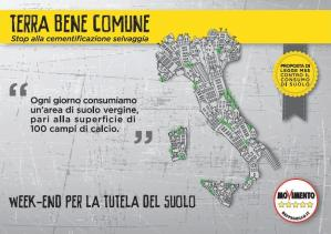 M5S Call to Action – Stop al consumo del suolo