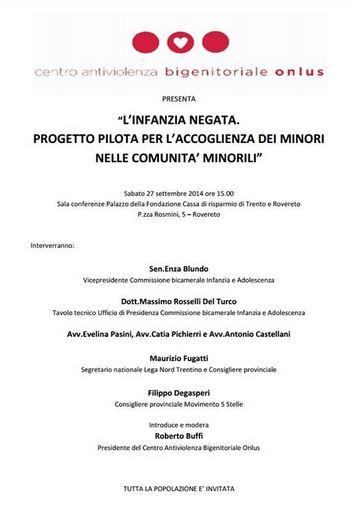 D.d.l sulla tutela dei minori condiviso da M5S e Lega Nord