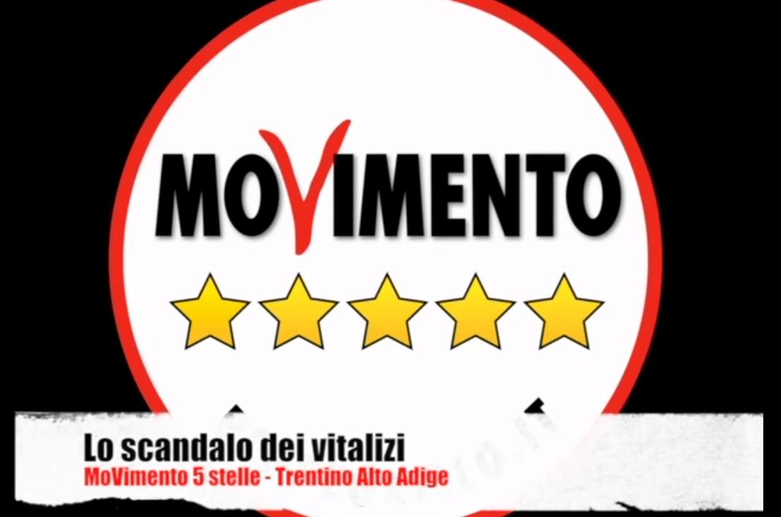 Vitalizi: Alex Marini e Diego Nicolini (M5S Trentino Alto Adige) presentano un'interrogazione per fare luce sulle proposte della SvP