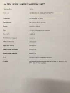 Il quinto Restitution day del portavoce Filippo Degasperi