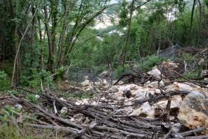 M5S Mori: pericolo di crolli di roccia e costruzione vallo tomo.