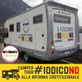 Camper Tour #IOdicoNO: gli appuntamenti del 30 novembre