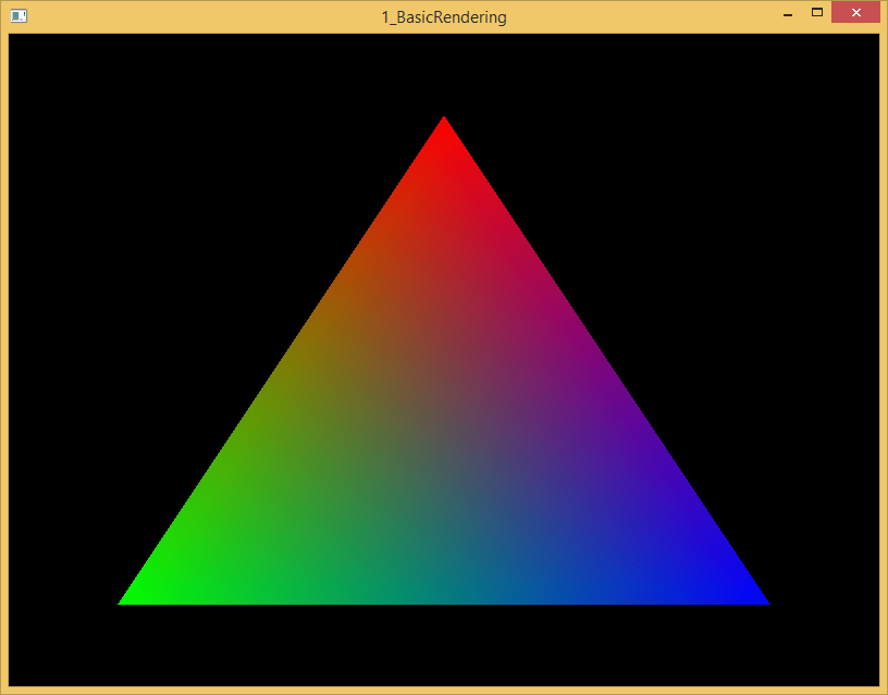 Qt5 OpenGL Part 1: Basic Rendering | Trent Reed