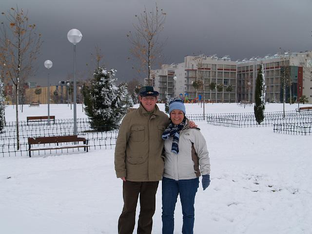 Nevada en Madrid, 9 de Enero 2009