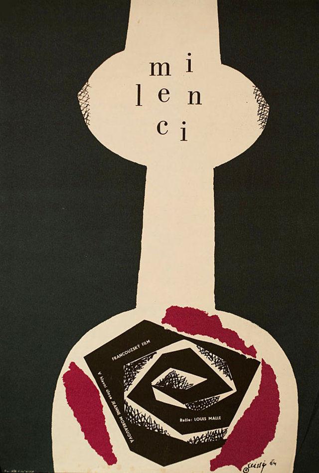 the-lovers-1964-original-czechmovie-poster