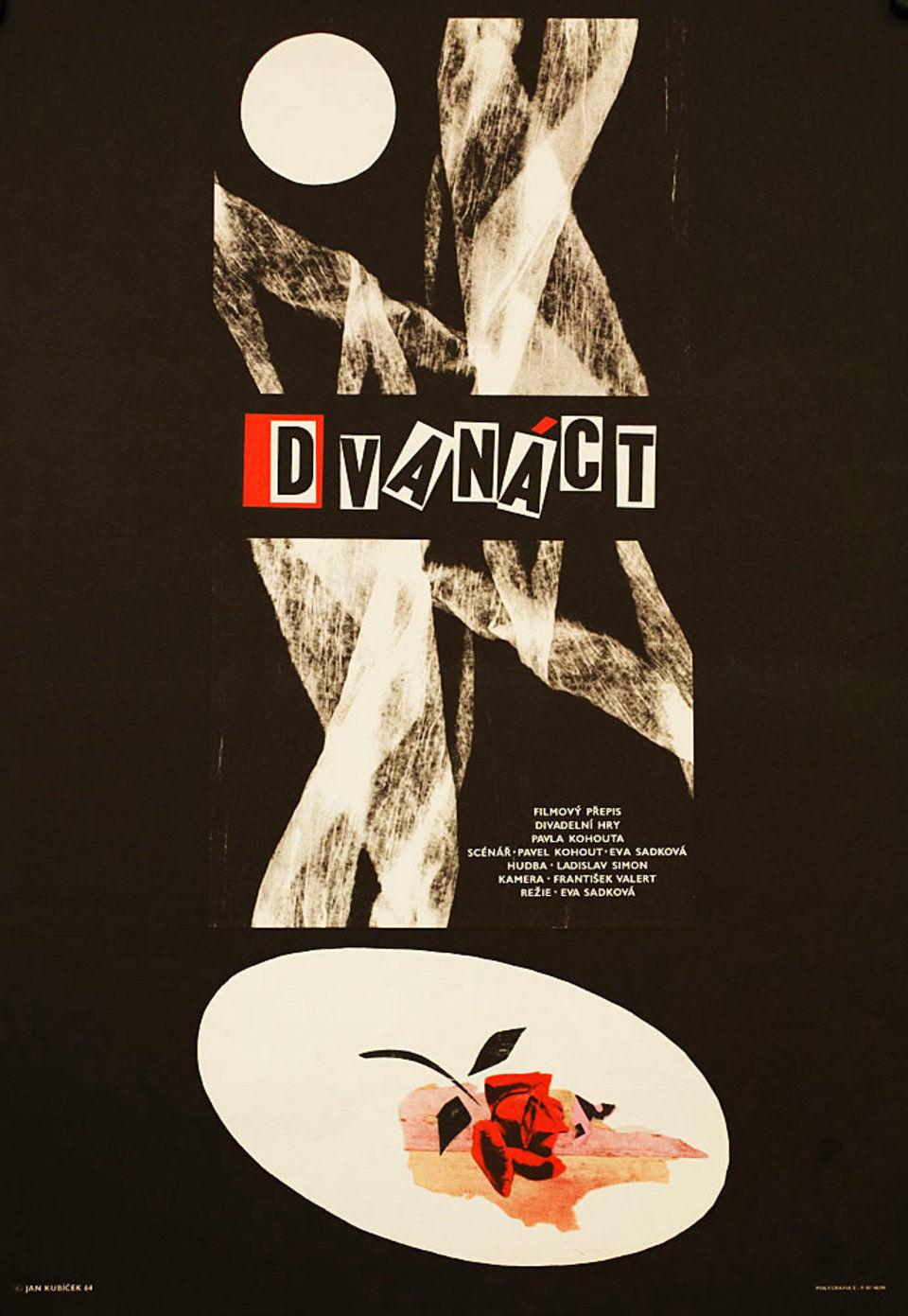 twelve-with-an-idea-1964-original-czech-movie-poster