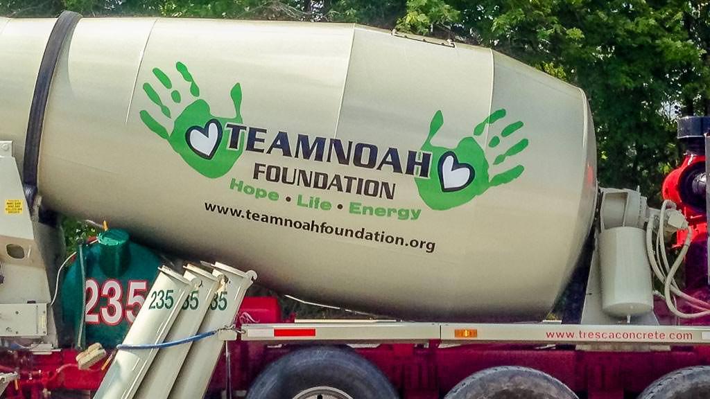 Team Noah Foundation Concrete Truck #2