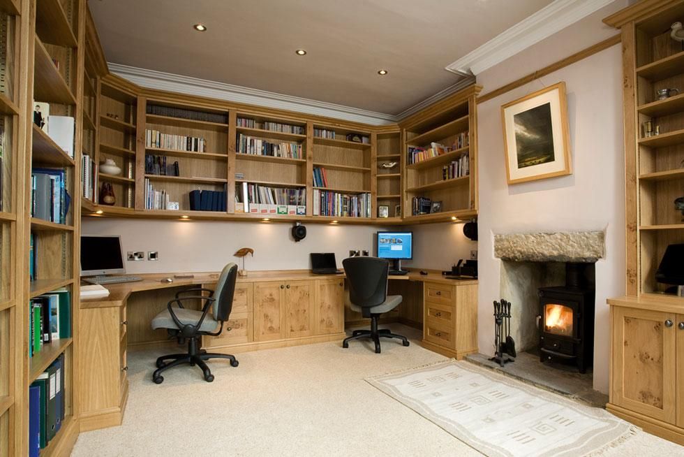 Menwith Oak Home Office From Treske