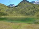 Il Lago Verde: si raggiunge poco prima del Duranpass.