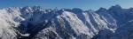 Panoramica sulla Val di Scais ed Ambria dal Pizzo Meriggio 2358 m.