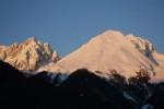Il Monte Sossino 2398 m e Pizzo Camino 2491 m.