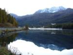 Il lago  di Sils... uno specchio.