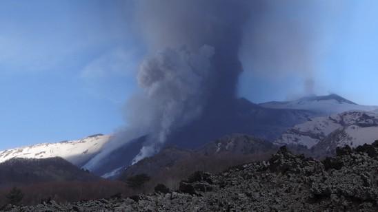 Eruzione Monte Etna del 18/03/2012.
