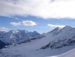 La Cima de la Bedoletta 2626 m dalla Bocca di Rogna 2401 m.