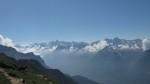 La catena della Val Bregaglia.