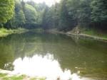 Il laghetto di Triangia.