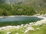La meta è raggiunta: il Lago Colina.