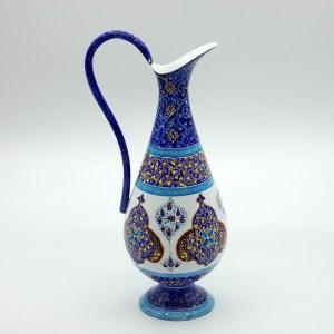 Vase / Carafe en Cuivre Emaille