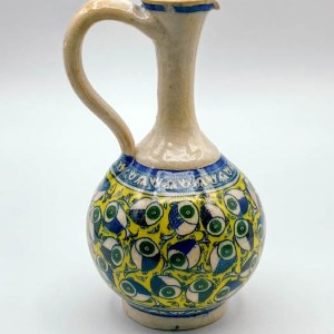 Carafe / Pichet Artisanal Emaillé, peint à la main en céramique VS02