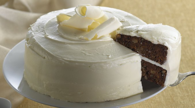 Tre Stelle Recipe - Chocolate Carrot Cake with Tre Stelle