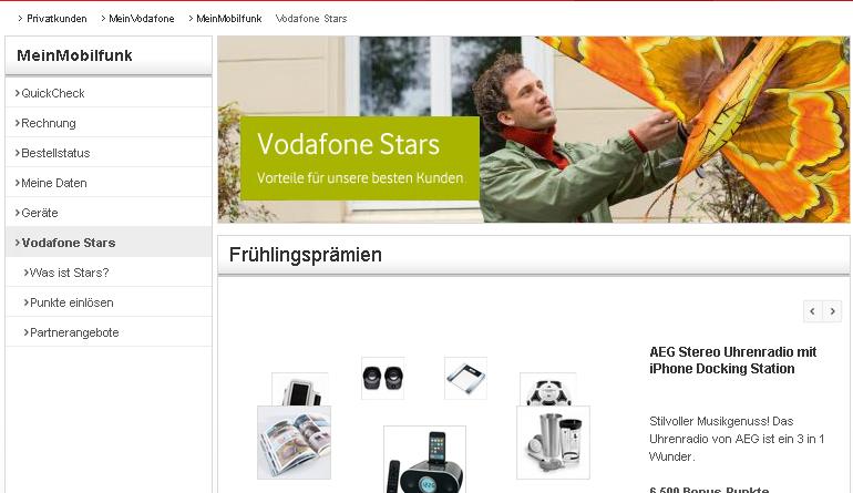 Treueprogramm Vodafone
