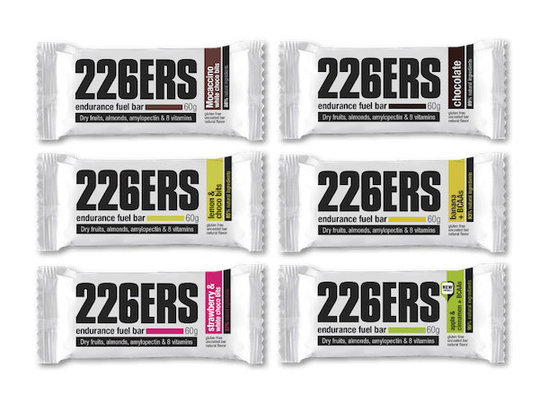 226ers endurance fuel bar