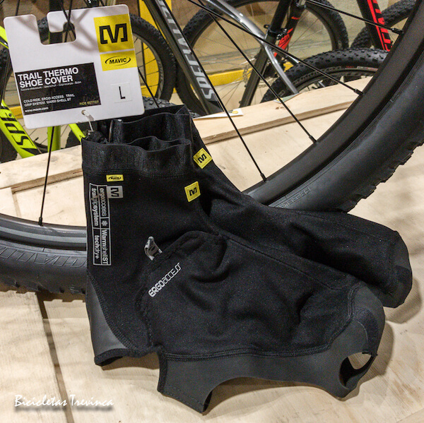 trail thermo shoe cover mavic