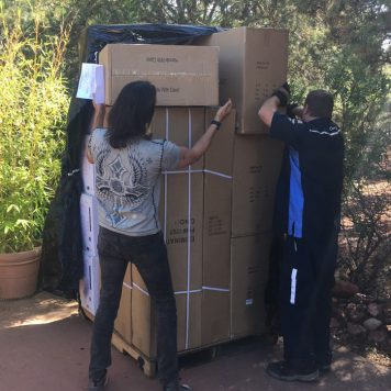 Tré Visio Productions - First equipment arrives