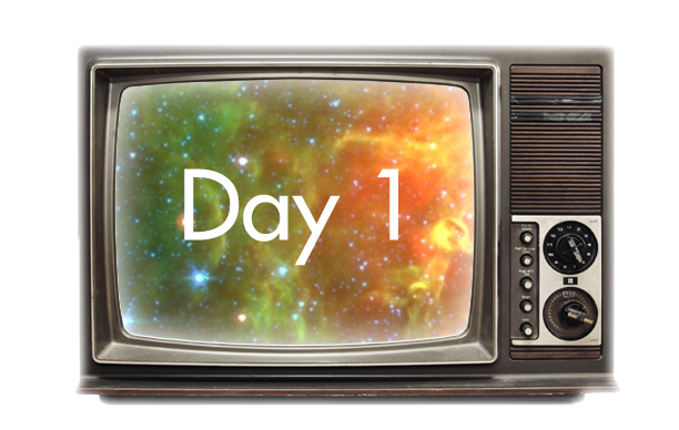 TV With Day 1 and Stars inside