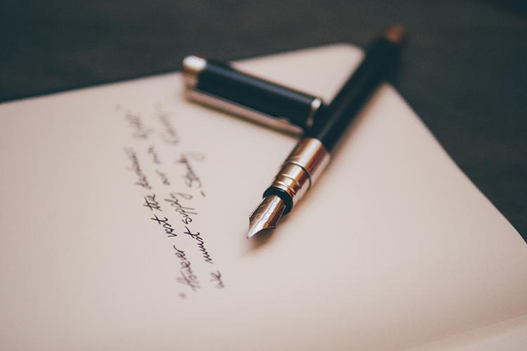 letter calligraphy pen