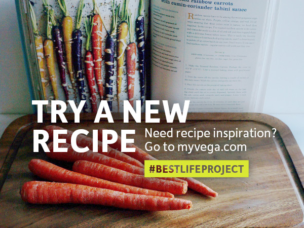 Best Life Project - #BestLifeProject - Try and New Recipe - Eat Challenge on Instagram