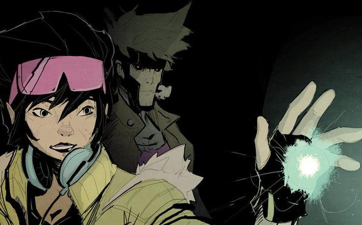 X-Men Art Jubilee Gambit Jebedai Couture
