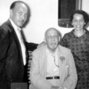 James and Esther James and Esther Jackson with fellow communist W. E. B. DuBois