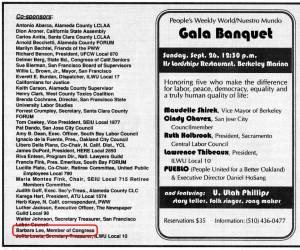 Peoples Weekly World, September 11, 1999