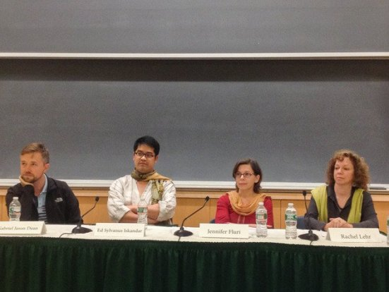 """Panel discussion with """"artists in residence"""" who were """"working on 'Bacha Bazi [Boy Play]' via thedartmouth.org"""