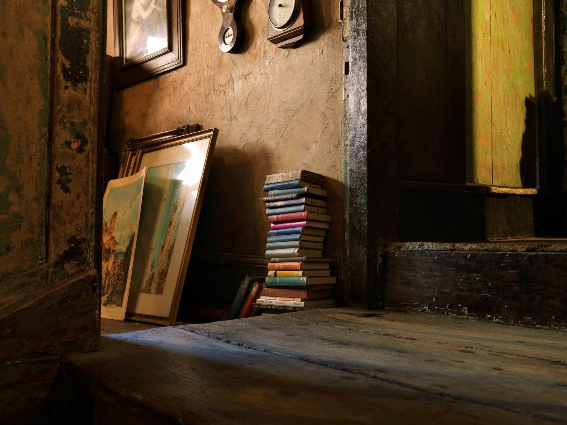 Pile of Books Devizes Wiltshire 2016