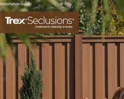 trex composite fence