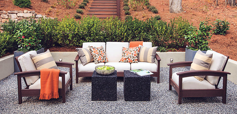 create eclectic outdoor style trex