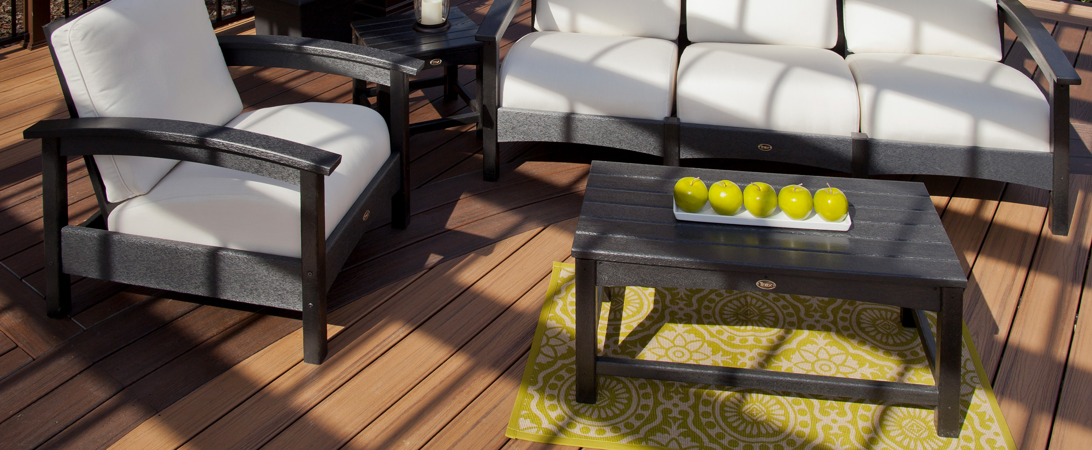 deck layout ideas trex furniture