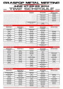 GMM14-Schedule