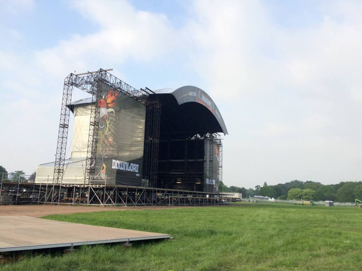 Le DOWNLOAD Festival France 2016 en streaming vidéo