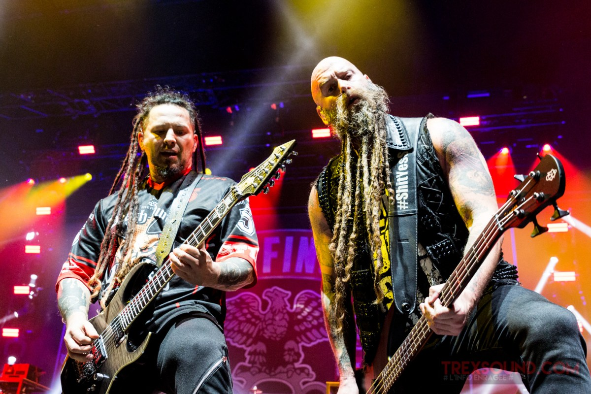 Live Report : FIVE FINGER DEATH PUNCH, IN FLAMES et OF MICE & MEN à L'Olympia (Paris)