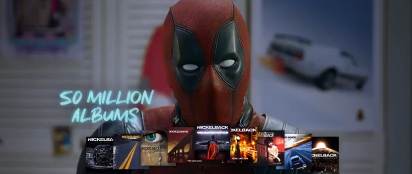 DEADPOOL prend la défense de NICKELBACK