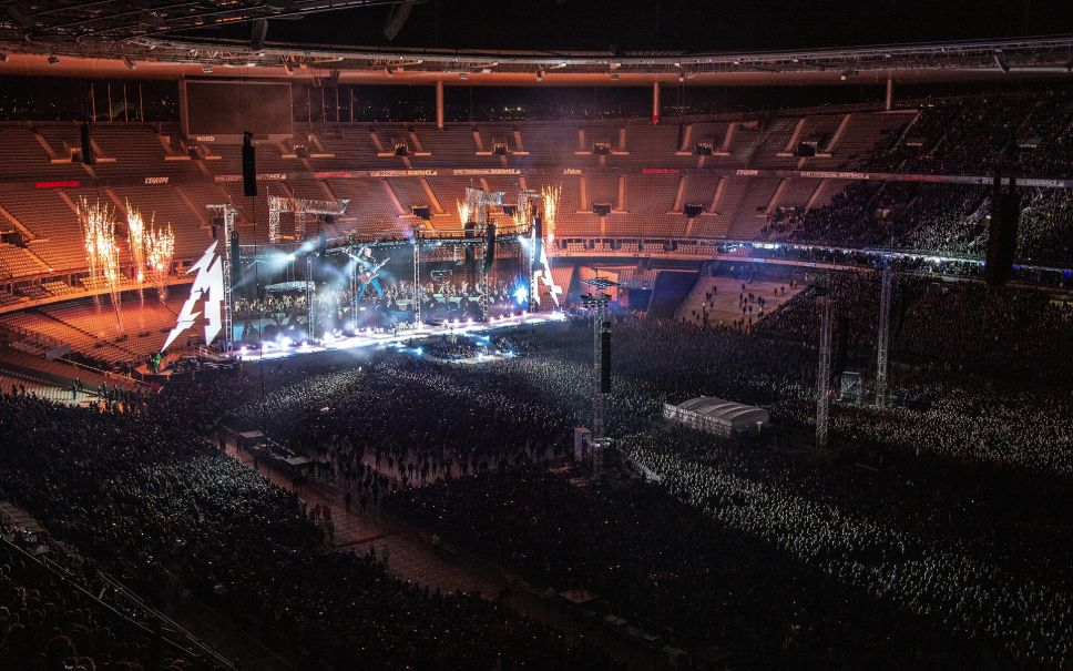 Le concert de METALLICA au Stade de France en vidéo
