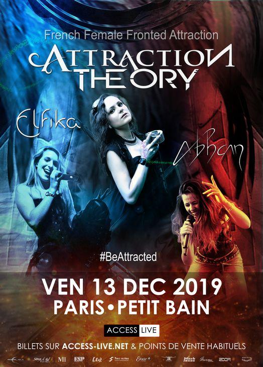 ATTRACTION THEORY en concert à Paris le 13 décembre